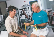 Rubber Band or Taffy Pull-Physical Therapy and Exercise for the Shoulder