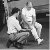 Physical Therapy and Exercise for the Knee-Knee Extension: Seated Stretch